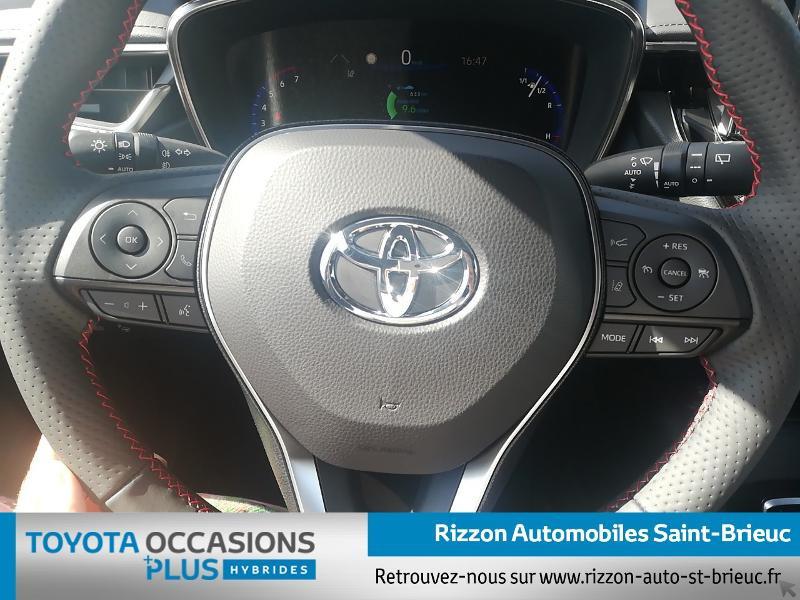 Photo 6 de l'offre de TOYOTA Corolla Touring Spt 122h GR Sport MY20 à 27990€ chez Rizzon Auto - Toyota St Brieuc