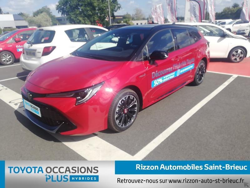 Photo 16 de l'offre de TOYOTA Corolla Touring Spt 122h GR Sport MY20 à 27990€ chez Rizzon Auto - Toyota St Brieuc
