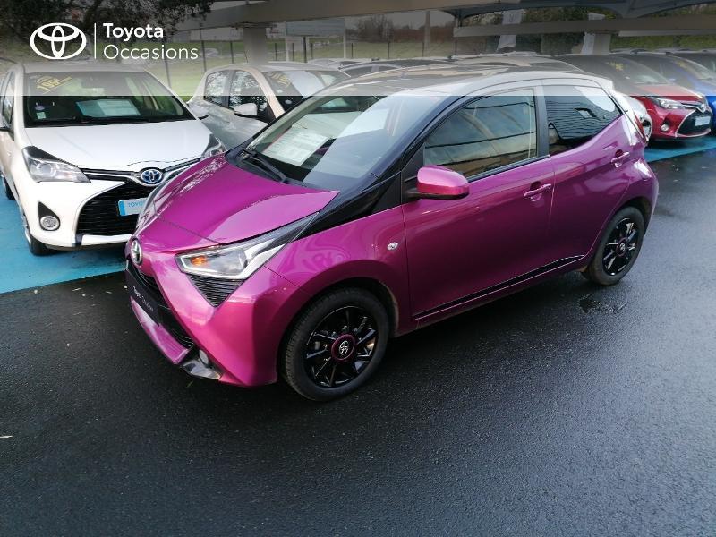 Photo 17 de l'offre de TOYOTA Aygo 1.0 VVT-i 72ch x-cite 5p à 9890€ chez Rizzon Auto - Toyota St Brieuc