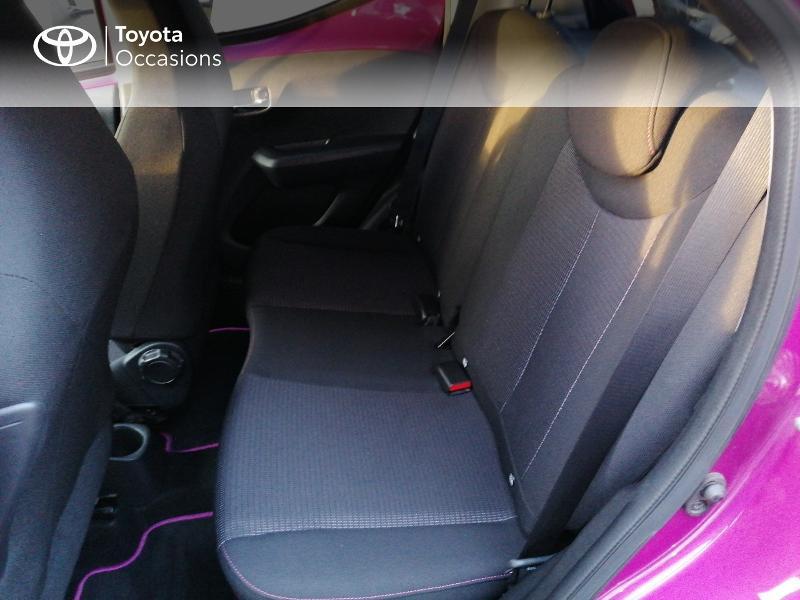 Photo 12 de l'offre de TOYOTA Aygo 1.0 VVT-i 72ch x-cite 5p à 9890€ chez Rizzon Auto - Toyota St Brieuc