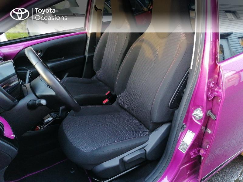 Photo 11 de l'offre de TOYOTA Aygo 1.0 VVT-i 72ch x-cite 5p à 9890€ chez Rizzon Auto - Toyota St Brieuc