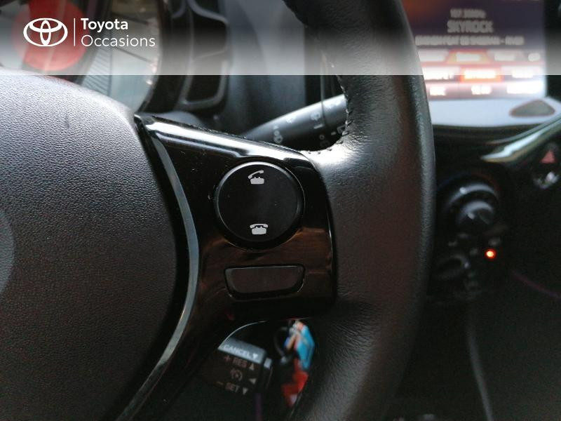 Photo 13 de l'offre de TOYOTA Aygo 1.0 VVT-i 72ch x-cite 5p à 9890€ chez Rizzon Auto - Toyota St Brieuc