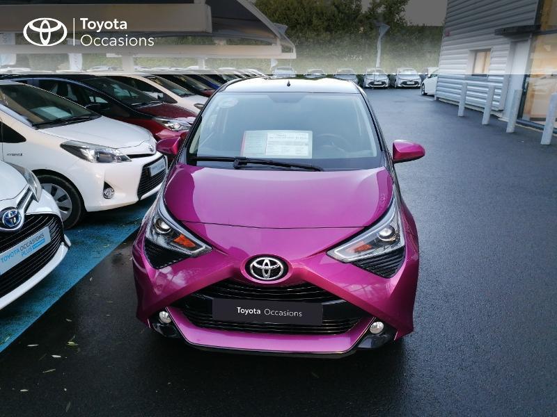 Photo 21 de l'offre de TOYOTA Aygo 1.0 VVT-i 72ch x-cite 5p à 9890€ chez Rizzon Auto - Toyota St Brieuc