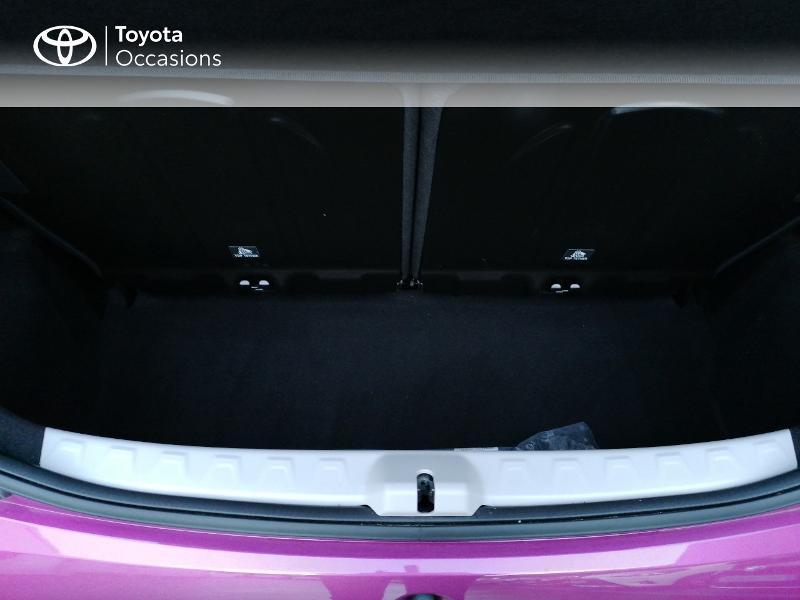 Photo 10 de l'offre de TOYOTA Aygo 1.0 VVT-i 72ch x-cite 5p à 9890€ chez Rizzon Auto - Toyota St Brieuc