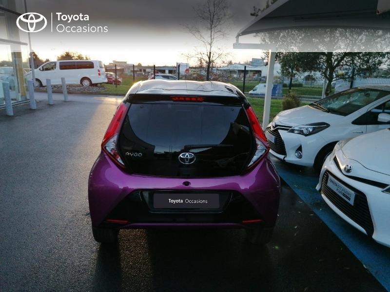 Photo 20 de l'offre de TOYOTA Aygo 1.0 VVT-i 72ch x-cite 5p à 9890€ chez Rizzon Auto - Toyota St Brieuc