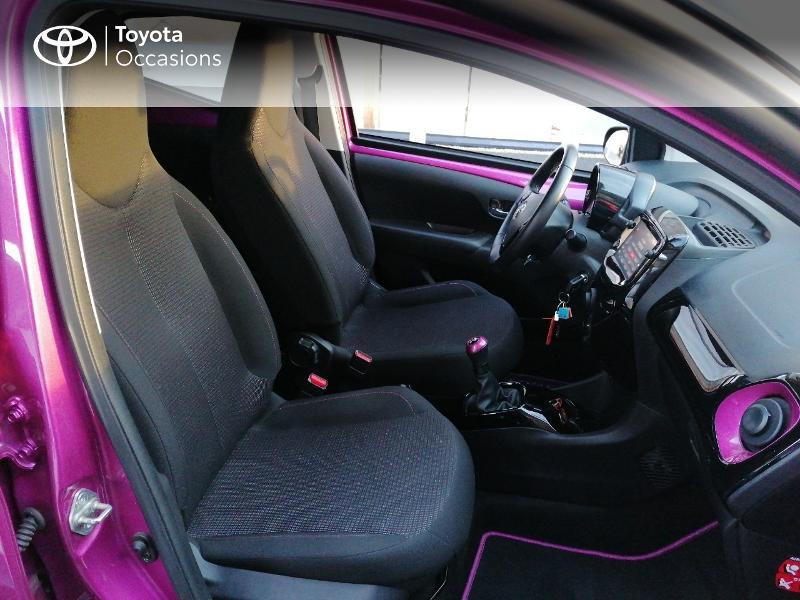 Photo 6 de l'offre de TOYOTA Aygo 1.0 VVT-i 72ch x-cite 5p à 9890€ chez Rizzon Auto - Toyota St Brieuc