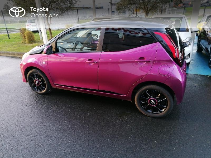 Photo 18 de l'offre de TOYOTA Aygo 1.0 VVT-i 72ch x-cite 5p à 9890€ chez Rizzon Auto - Toyota St Brieuc
