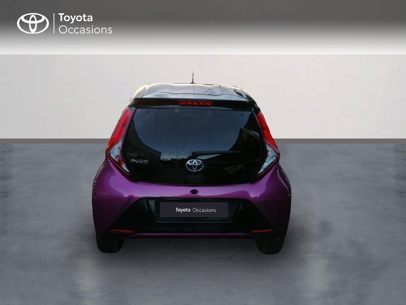 Photo 4 de l'offre de TOYOTA Aygo 1.0 VVT-i 72ch x-cite 5p à 9890€ chez Rizzon Auto - Toyota St Brieuc