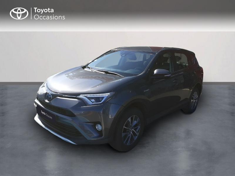 Toyota RAV4 197 Hybride Dynamic TSS Business 2WD CVT Hybride Gris Foncé Occasion à vendre
