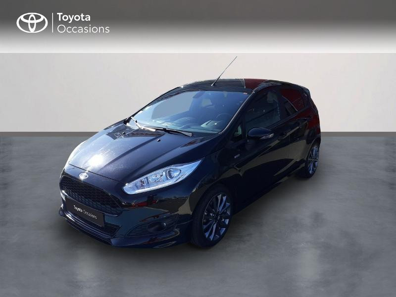 Ford Fiesta 1.0 EcoBoost 100ch Stop&Start ST Line 5p Essence noir Occasion à vendre