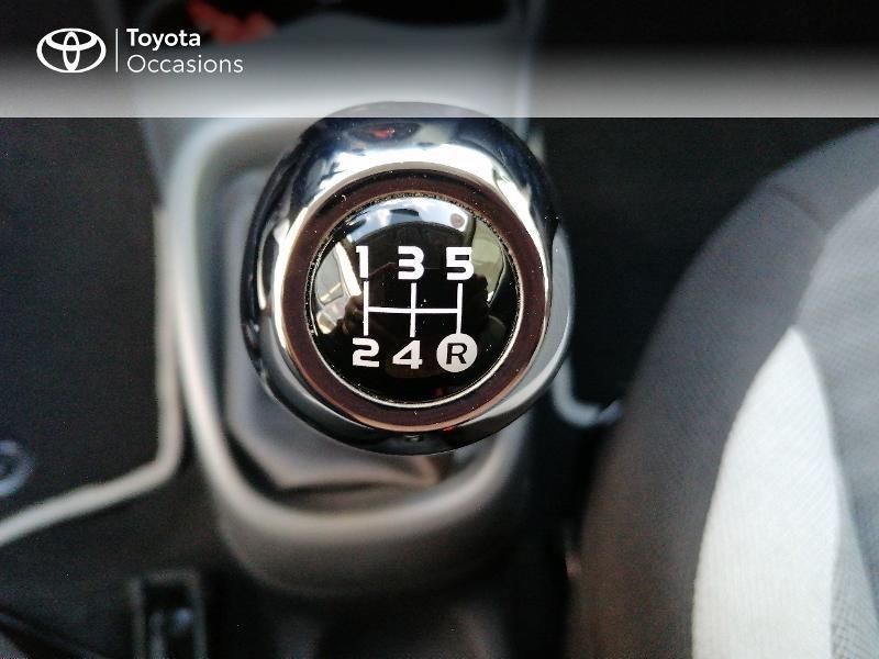Photo 9 de l'offre de TOYOTA Aygo 1.0 VVT-i 72ch x-play 5p MY20 à 9890€ chez Rizzon Auto - Toyota St Brieuc