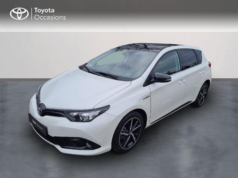 Toyota Auris HSD 136h Collection RC18 Hybride Blanc Métal Occasion à vendre