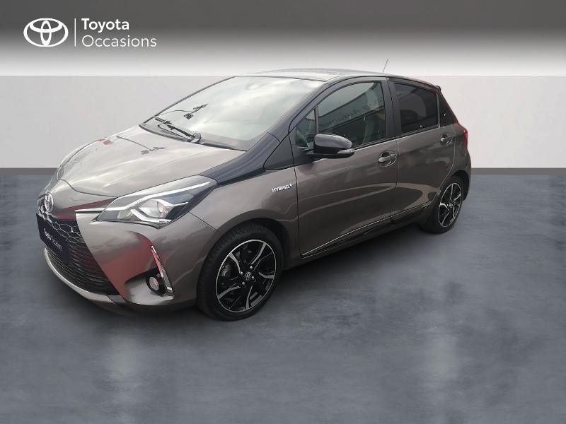 Photo 1 de l'offre de TOYOTA Yaris 100h Collection 5p à 13990€ chez Rizzon Auto - Toyota St Brieuc