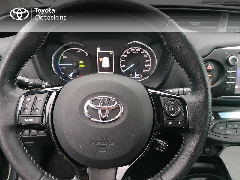 Photo 9 de l'offre de TOYOTA Yaris 100h Dynamic 5p MY19 à 13990€ chez Rizzon Auto - Toyota St Brieuc