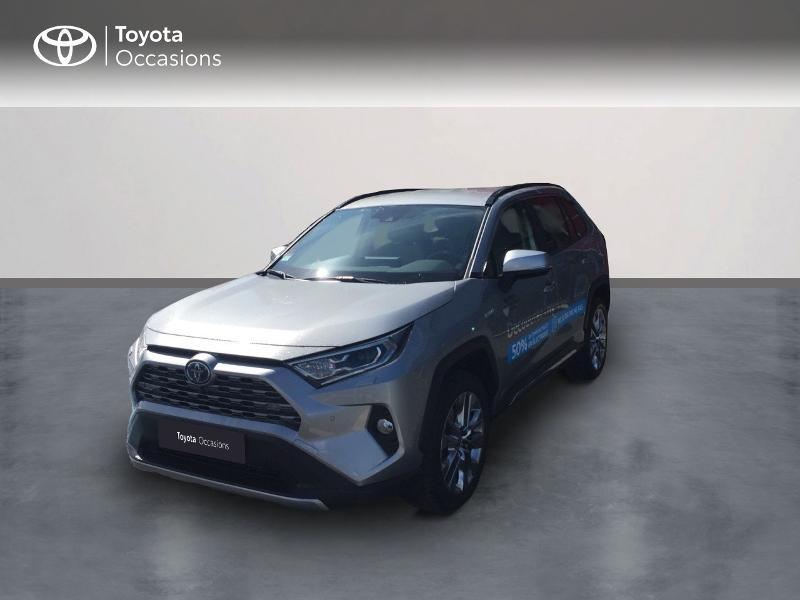 Toyota RAV4 Hybride 218ch Lounge 2WD MY21 Hybride Gris Foncé Occasion à vendre