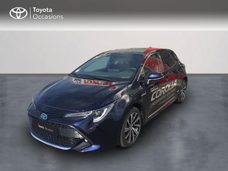 Toyota Corolla 122h Design MY21 Hybride Bleu Foncé Métal Occasion à vendre