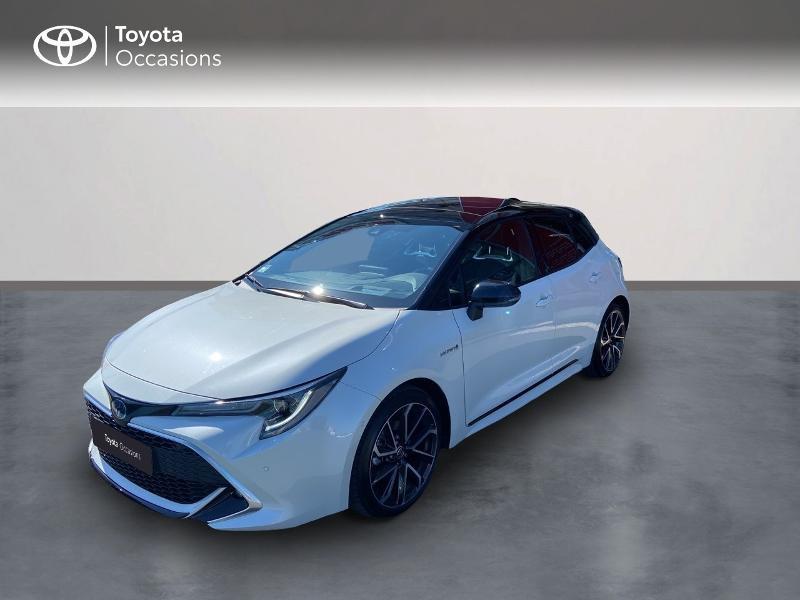 Toyota Corolla 122h Collection MY20 5cv Hybride BI TON BLANC Occasion à vendre