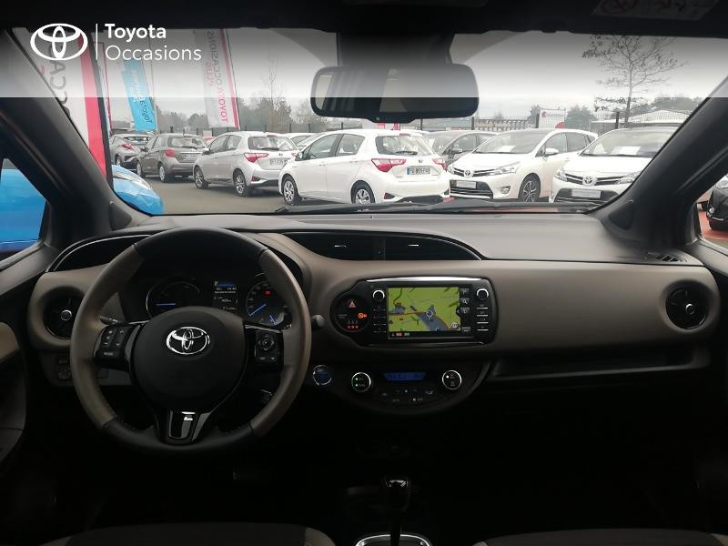 Photo 8 de l'offre de TOYOTA Yaris 100h Collection 5p à 13990€ chez Rizzon Auto - Toyota St Brieuc