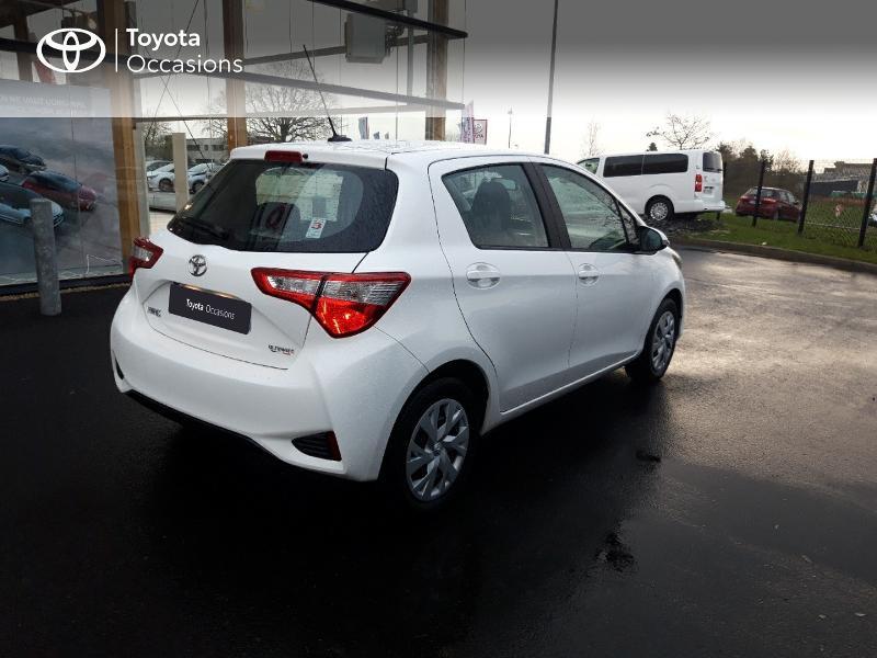 Photo 18 de l'offre de TOYOTA Yaris 110 VVT-i Ultimate 5p à 13890€ chez Rizzon Auto - Toyota St Brieuc