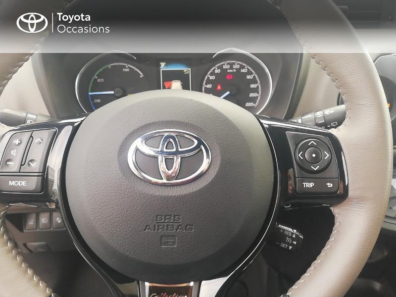 Photo 20 de l'offre de TOYOTA Yaris 100h Collection 5p à 13990€ chez Rizzon Auto - Toyota St Brieuc