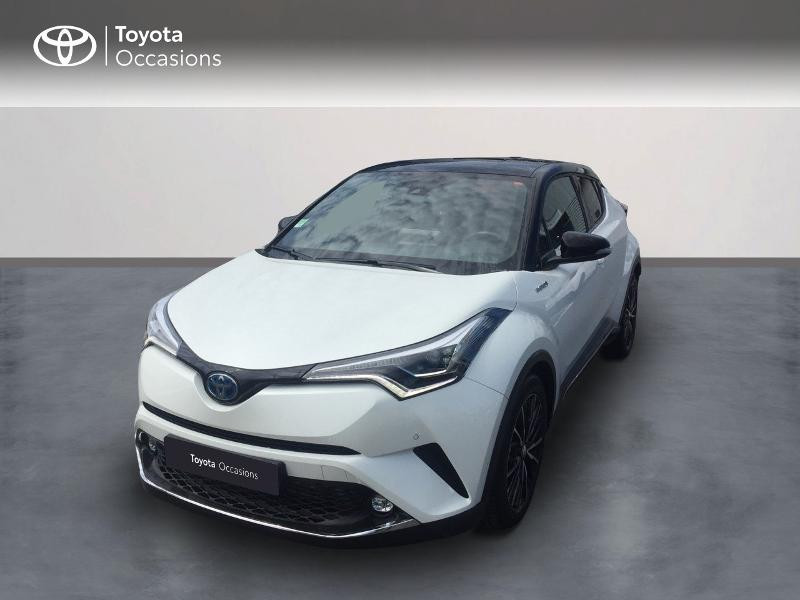 Toyota C-HR 122h Collection 2WD E-CVT Hybride Blanc Métal Occasion à vendre