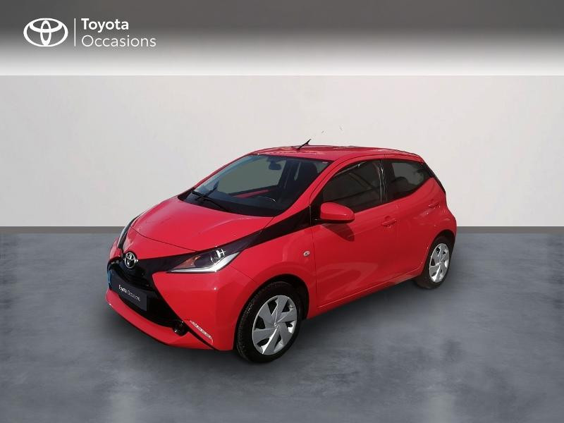Toyota Aygo 1.0 VVT-i 69ch x-red 5p Essence Rouge Occasion à vendre