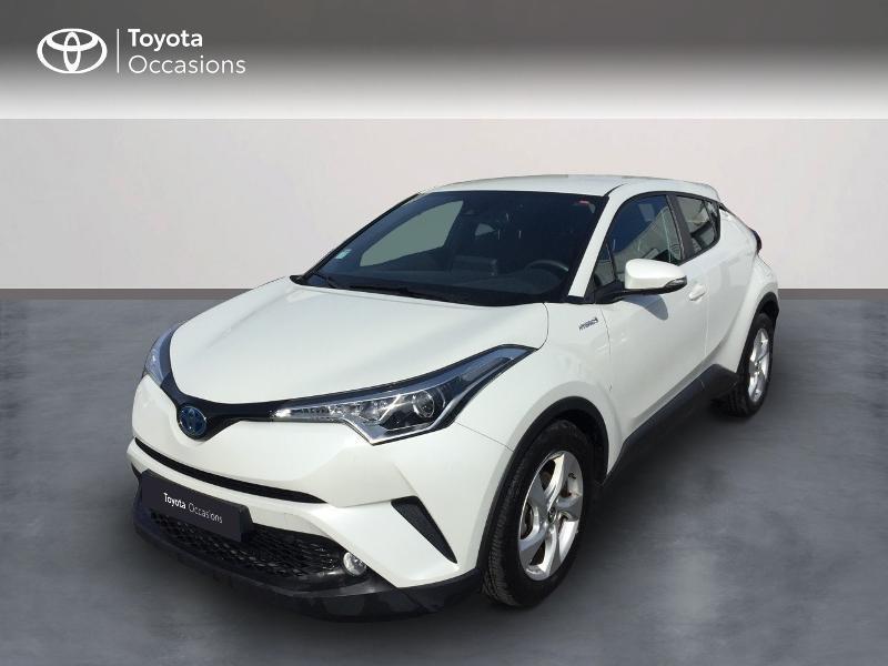 Toyota C-HR 122h Dynamic 2WD E-CVT Hybride Blanc Métal Occasion à vendre