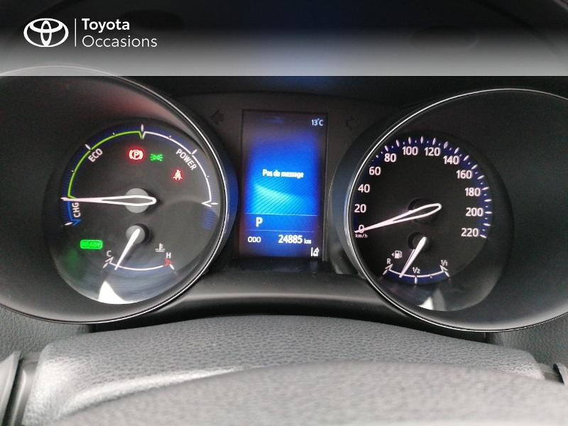 Photo 14 de l'offre de TOYOTA C-HR 122h Edition 2WD E-CVT RC18 à 21890€ chez Rizzon Auto - Toyota St Brieuc