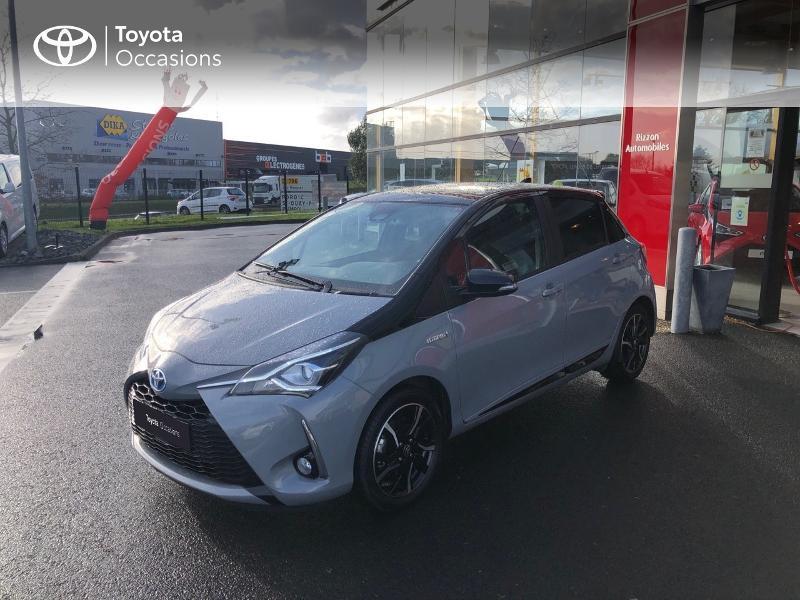 Photo 23 de l'offre de TOYOTA Yaris 100h Collection 5p RC18 à 14490€ chez Rizzon Auto - Toyota St Brieuc