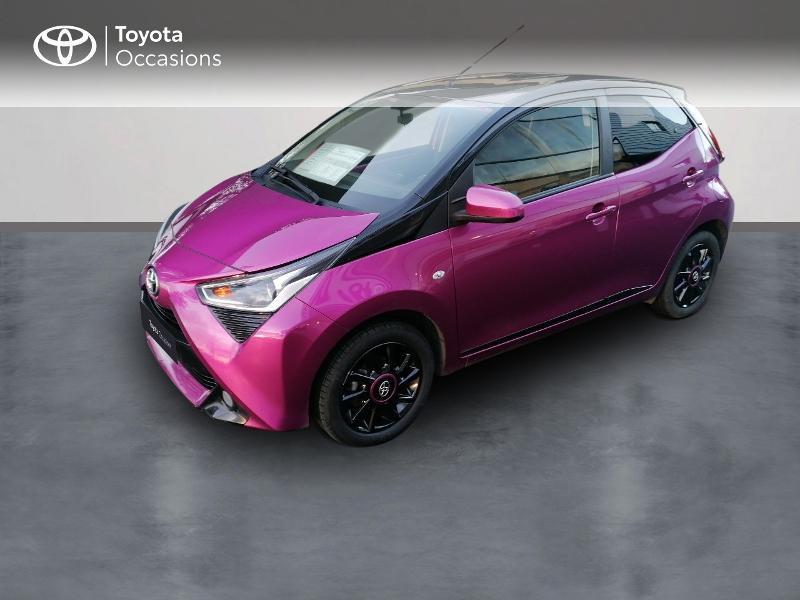 Toyota Aygo 1.0 VVT-i 72ch x-cite 5p Essence violet Occasion à vendre