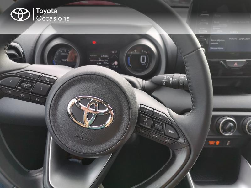 Photo 11 de l'offre de TOYOTA Yaris 70 VVT-i Design 5p à 16990€ chez Rizzon Auto - Toyota St Brieuc