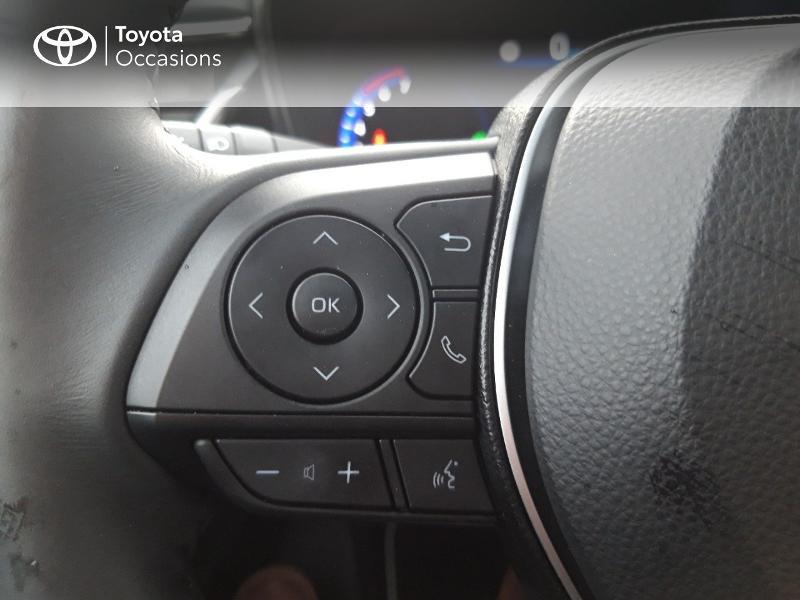 Photo 20 de l'offre de TOYOTA Corolla 122h Design MY20 à 24490€ chez Rizzon Auto - Toyota St Brieuc