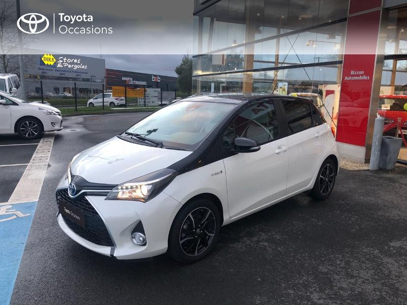 Photo 21 de l'offre de TOYOTA Yaris HSD 100h Collection 5p à 14490€ chez Rizzon Auto - Toyota St Brieuc