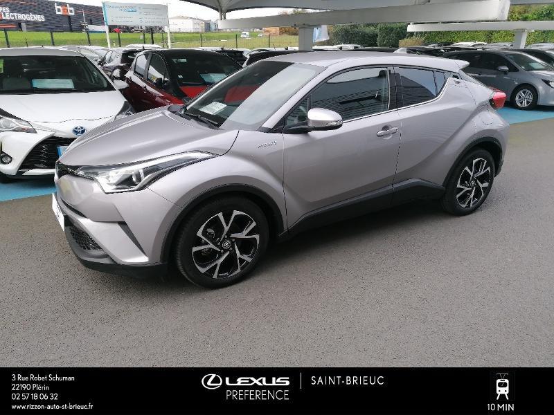 Photo 16 de l'offre de TOYOTA C-HR 122h Edition 2WD E-CVT RC18 à 21980€ chez Rizzon Auto - Toyota St Brieuc