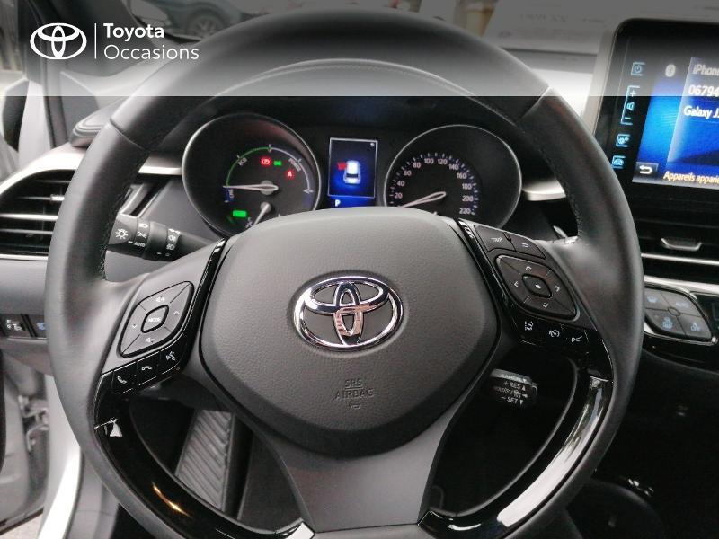 Photo 9 de l'offre de TOYOTA C-HR 122h Edition 2WD E-CVT RC18 à 21890€ chez Rizzon Auto - Toyota St Brieuc