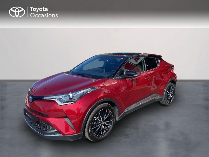 Toyota C-HR 122h Collection 2WD E-CVT Hybride Rouge Métal Occasion à vendre