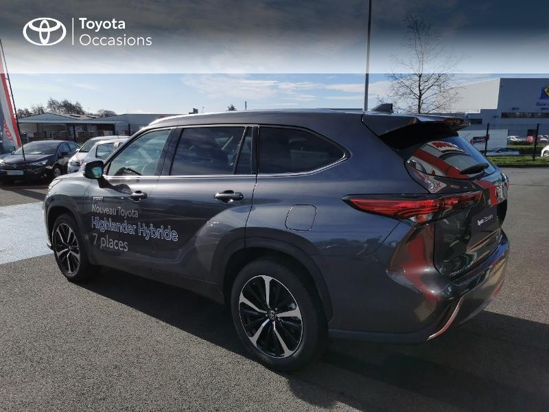 Photo 18 de l'offre de TOYOTA Highlander Hybrid 248ch Lounge AWD-I à 60490€ chez Rizzon Auto - Toyota St Brieuc