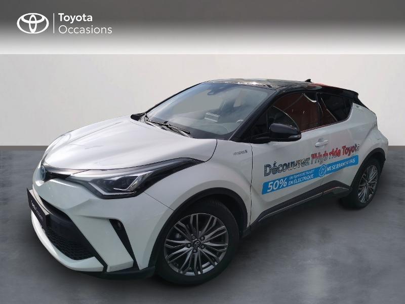 Toyota C-HR 122h Distinctive 2WD E-CVT MY20 Hybride Blanc Métal Occasion à vendre