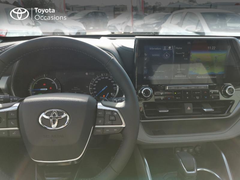 Photo 8 de l'offre de TOYOTA Highlander Hybrid 248ch Lounge AWD-I à 60490€ chez Rizzon Auto - Toyota St Brieuc