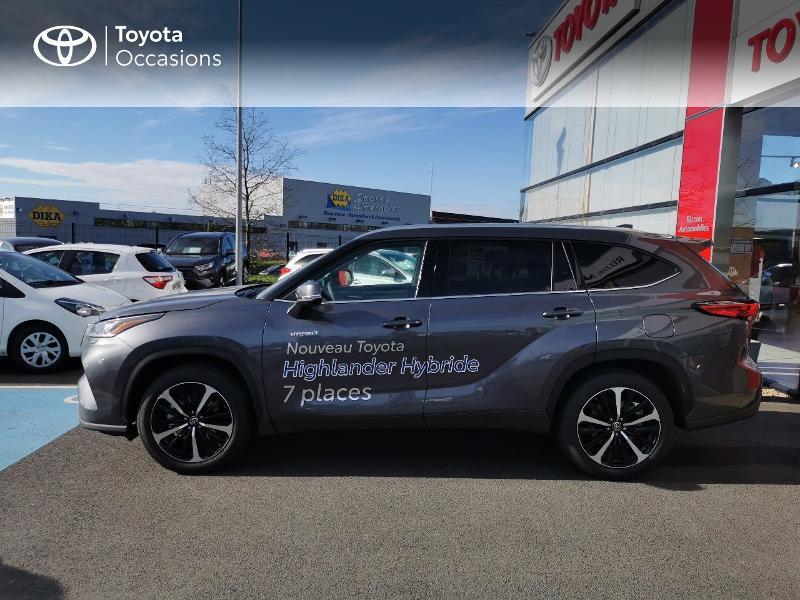 Photo 19 de l'offre de TOYOTA Highlander Hybrid 248ch Lounge AWD-I à 60490€ chez Rizzon Auto - Toyota St Brieuc