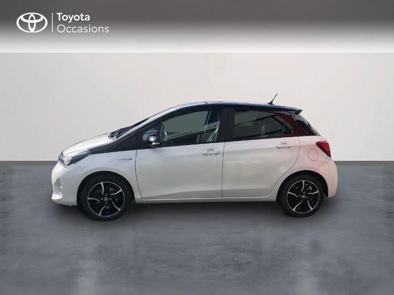 Photo 3 de l'offre de TOYOTA Yaris HSD 100h Collection 5p à 13490€ chez Rizzon Auto - Toyota St Brieuc