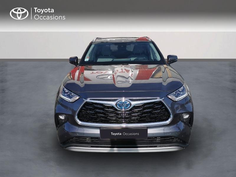 Photo 5 de l'offre de TOYOTA Highlander Hybrid 248ch Lounge AWD-I à 60490€ chez Rizzon Auto - Toyota St Brieuc