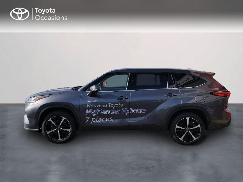 Photo 3 de l'offre de TOYOTA Highlander Hybrid 248ch Lounge AWD-I à 60490€ chez Rizzon Auto - Toyota St Brieuc