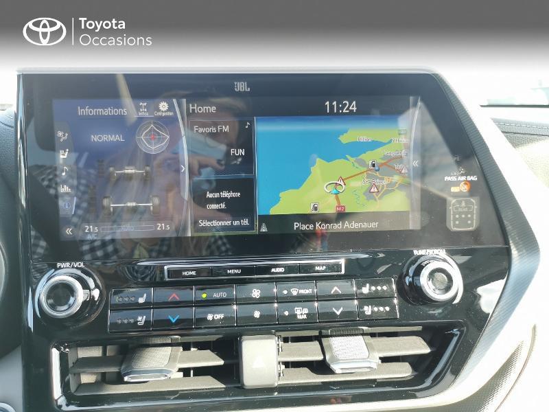 Photo 15 de l'offre de TOYOTA Highlander Hybrid 248ch Lounge AWD-I à 60490€ chez Rizzon Auto - Toyota St Brieuc