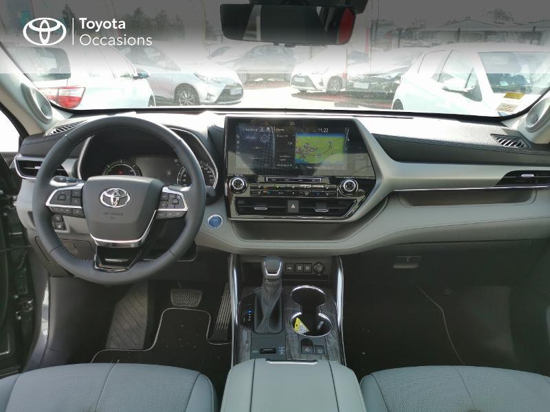 Photo 11 de l'offre de TOYOTA Highlander Hybrid 248ch Lounge AWD-I à 60490€ chez Rizzon Auto - Toyota St Brieuc