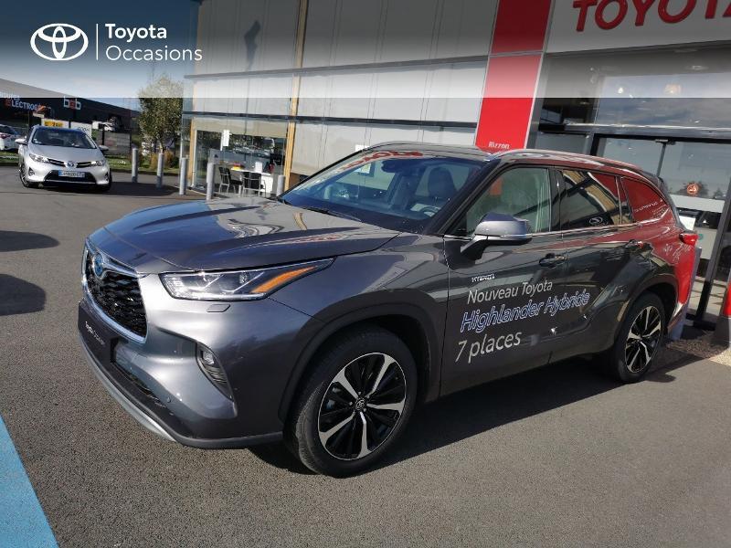 Photo 17 de l'offre de TOYOTA Highlander Hybrid 248ch Lounge AWD-I à 60490€ chez Rizzon Auto - Toyota St Brieuc