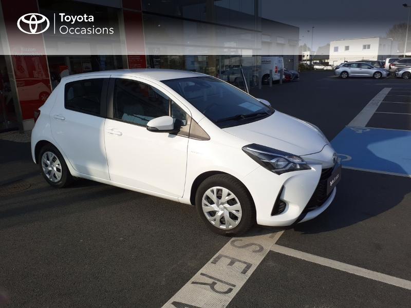 Photo 19 de l'offre de TOYOTA Yaris 100h France 5p MY19 à 12490€ chez Rizzon Auto - Toyota St Brieuc