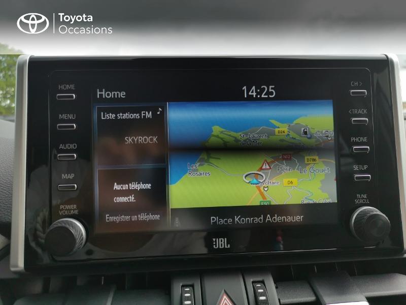 Photo 15 de l'offre de TOYOTA RAV4 Hybride 222ch Lounge AWD-i MY21 à 48990€ chez Rizzon Auto - Toyota St Brieuc