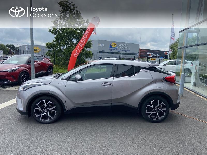 Photo 26 de l'offre de TOYOTA C-HR 122h Edition 2WD E-CVT RC18 à 20490€ chez Rizzon Auto - Toyota St Brieuc