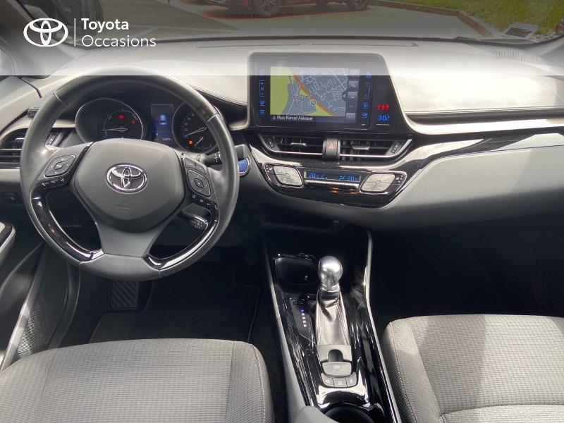 Photo 8 de l'offre de TOYOTA C-HR 122h Edition 2WD E-CVT RC18 à 20490€ chez Rizzon Auto - Toyota St Brieuc